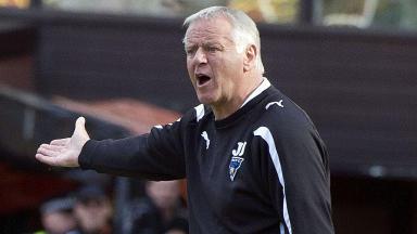 Dunfermline boss Jim Jefferies