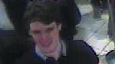 CCTV: Police release image of man they are hunting over attack.