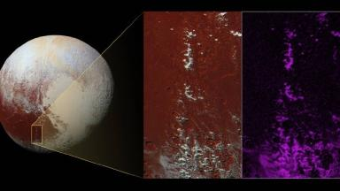 Scientists analysed data and imagery to discover 'snow-capped mountains' on Pluto.