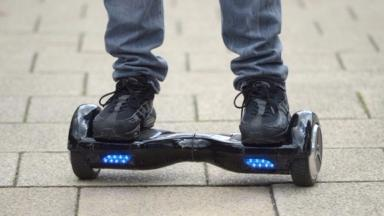 Hoverboard: Man declined a lift from his victim (file pic).
