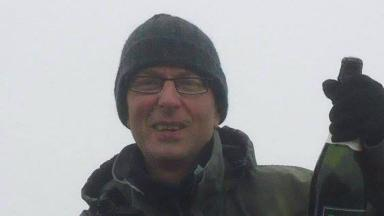 Jim Robertson: 'No trace' of missing hiker.