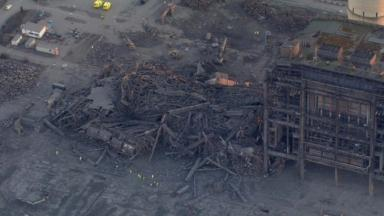The Didcot power station collapse