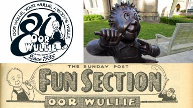 Oor Wullie: Looking good for 80 years young.