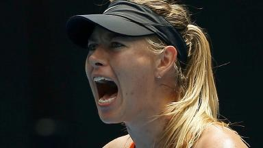 Sharapova made the shock announcement earlier on Monday.