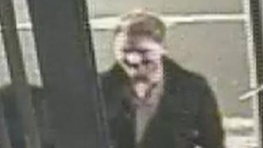 CCTV: Police hunting man over attack in Glasgow city centre.