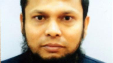 Stranded: Kausar Uddin's passport has been confiscated.