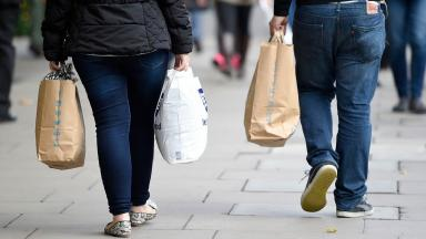 Shopping: The SNP will vote against the bill despite being in favour of Sunday trading (file pic).