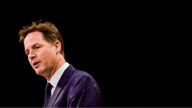 Nick Clegg said the claims are 'nonsense'.
