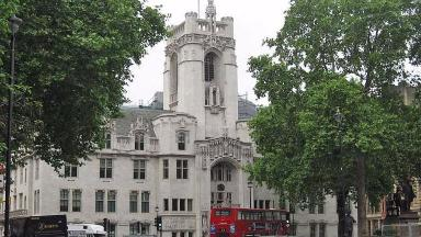 Middlesex Guildhall, location of the UK Supreme Court. From Wikipedia, image released to public domain.