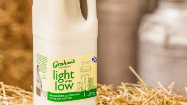 Graham's: The dairy firm contested the court action (file pic).