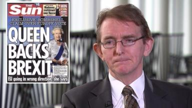 Tony Gallagher: Editor said the newspaper's position was 'extremely strong' after Buckingham Palace reported its story to the press watchdog.