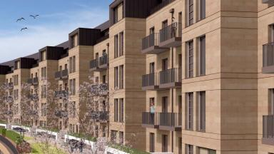Vision: How the Park Quadrant homes could look.