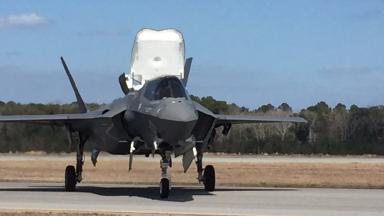 The F35 fighter jet