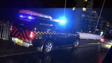 River Clyde: Emergency services searched the River Clyde for the woman.