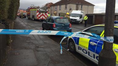 Armed Police: Officers were sent to the scene on Saturday.