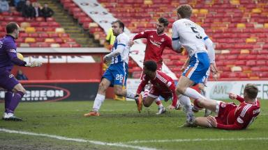 Winner: Shay Logan's goal proved the difference.