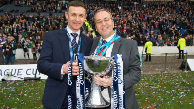 McIntyre thrilled for 'Mr Ross County' Roy MacGregor after cup win