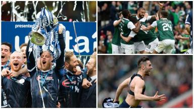 History: Ross County triumphed at Hampden on Sunday.