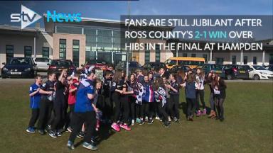 League Cup arrives in Dingwall