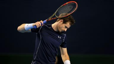 Out: Andy Murray bowed out in the third round of the BNP Paribas Open.
