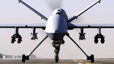 Reaper drone: 'Robot wars' planned during Operation Unmanned Warrior (file pic).