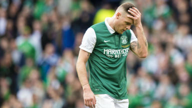 Wrong to point finger at Anthony Stokes for Hibs' slump says Stubbs