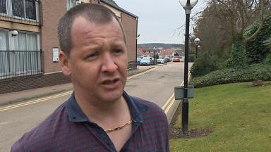 Martin Tosh: Survivor of 2013 helicopter crash.