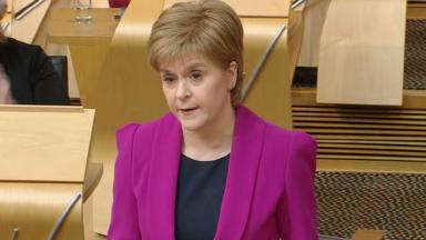 Nicola Sturgeon: The First Minister is aiming to close the attainment gap in schools.
