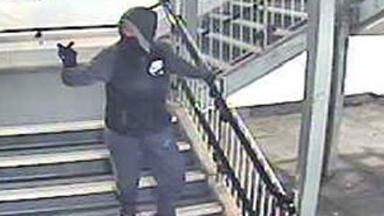 CCTV: Officers wish to trace this man.