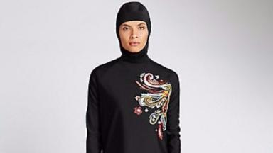 It is the first time the store has stocked Burkini's in the UK