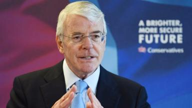 Former Prime Minister John Major has accused Brexit campaigners of portraying a