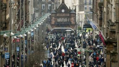 New faces: Immigration has given Scotland's cities thriving Polish communities.