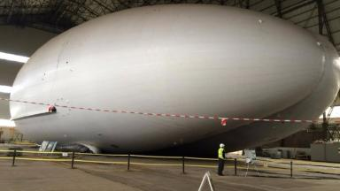 The Airlander 10 is ready for her flight.