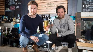 Brewgooder founders Alan Mahon and Josh Littlejohh