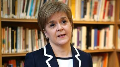 Nicola Sturgeon: The SNP say their tax plans will raise £1bn extra.