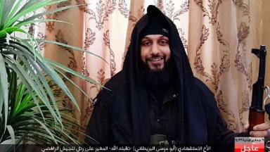 A photograph of a suicide bomber is said to be that of Mohammed Rizwan Awan from Huddersfield.