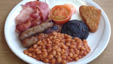 Mr MacKay said he was 'really cheesed off' to be told he couldn't have his breakfast favourite