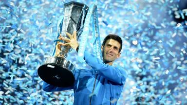 Controversial comments: Novak Djokovic winning another tournament.