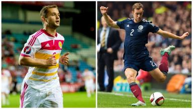Called up: The duo have been added to the Scotland squad.