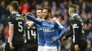 Scottish Championship highlights: Rangers 4-3 Queen of the South