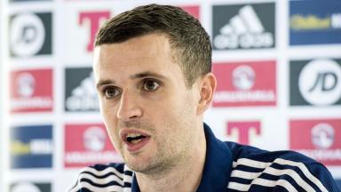 Debutant: Jamie Murphy could feature against Denmark.