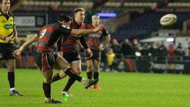 Hopes: Edinburgh can still qualify for the Champions Cup.