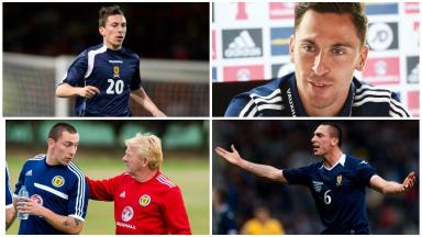 History maker: Scott Brown will pick up his 50th cap on Tuesday.