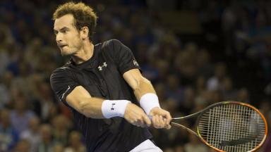 Defeat: Andy Murray suffered another early exit.