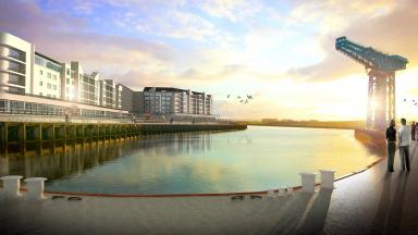 Redevelopment: The plans incorporate housing, shops and a health quarter.