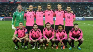 Friendly win: Scotland beat Czech Republic 1-0 on Thursday in Prague.
