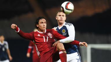 Spirit kept Scots in the game against superior Denmark says Strachan