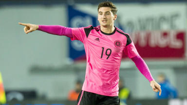 Kenny McLean on his Scotland debut and Aberdeen's title push