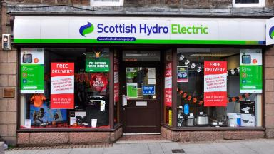 Doors closed: The remaining shops are mainly based in Tayside and the north of Scotland (file pic).