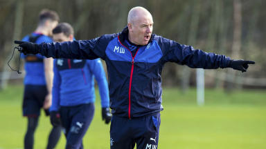 Warburton: If I can't handle derby pressure I shouldn't be Rangers boss